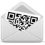 QR code in envelope
